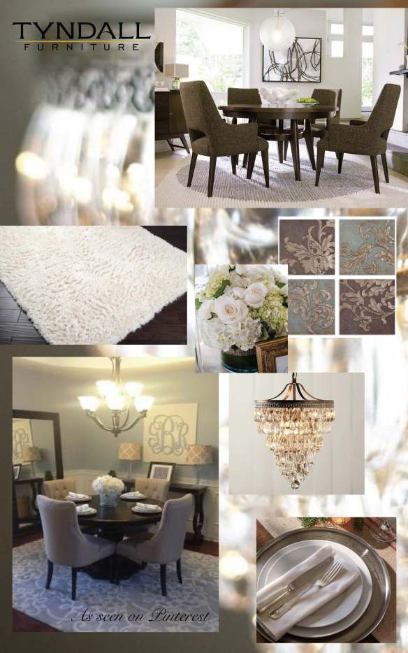 A Pinterest Worthy Dining Room from Tyndall Furniture in Charlotte, NC and Fort Mill, SC