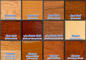 shades of wood furniture. different wood stains at tyndall furniture in pineville nc and fort mill sc shades of r