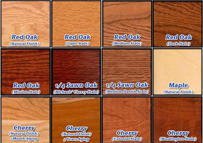 kinds of wood for furniture. Different Wood Stains At Tyndall Furniture In Pineville, NC And Fort Mill, SC Kinds Of For